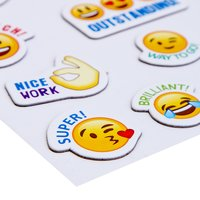 Craft Villa Handmade Msg Smiley Sticker