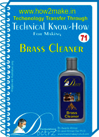 Brass Cleaner of Technical Know-How Report