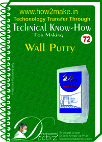 Wall Putty Technical knowHow report