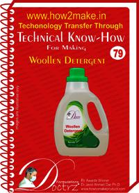 Woollen Detergents Technical knowHow report