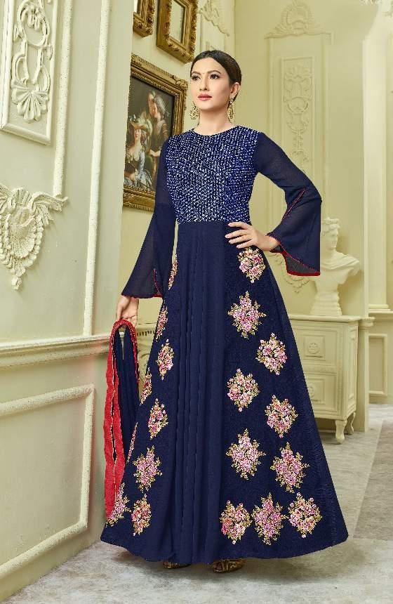 Arihant Rozelle Vol 5 Gauhar Khan Suits Catalog