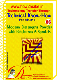 Modern Detergent Powder with brightener and sparkles Technical knowHow Report