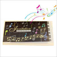 Musical Voice Singing Wedding Card
