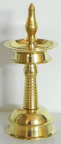 Standalone Oil Brass Lamp