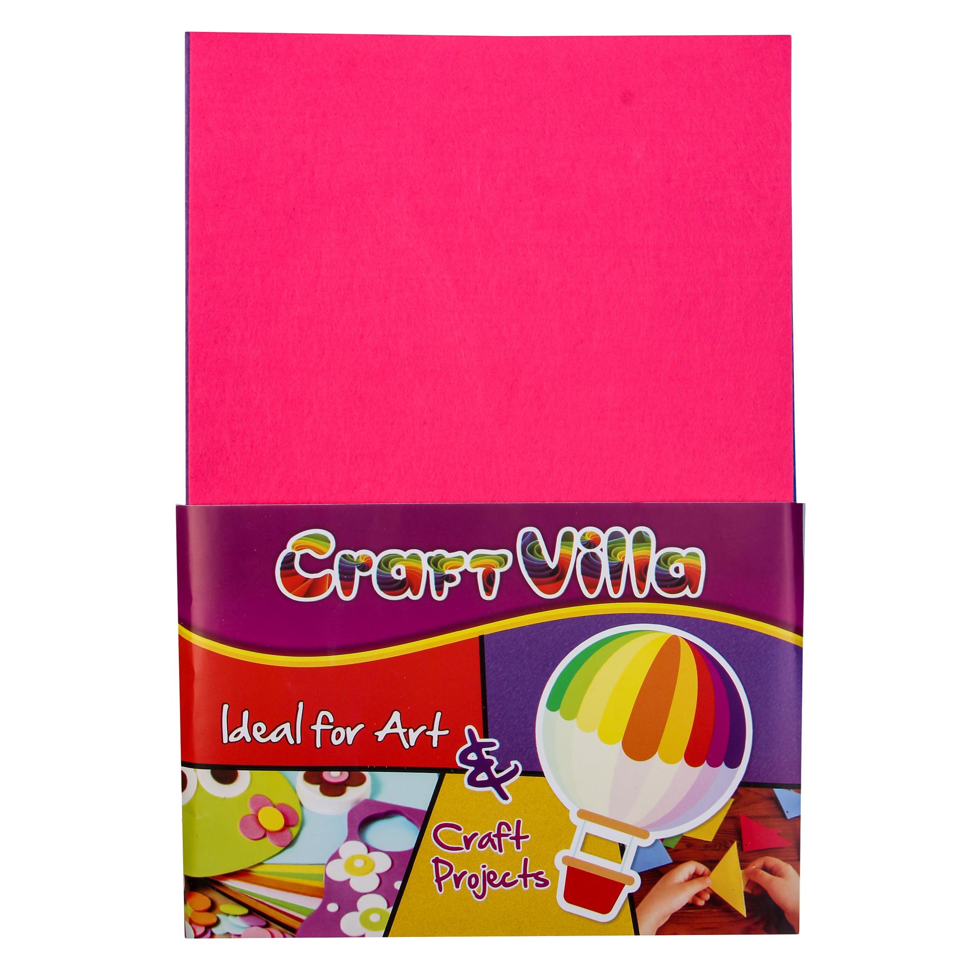 Craft Villa Felt Sheet 2MM