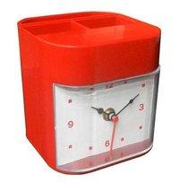 Clock Pen Stand