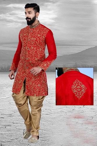 Exclusive Readymade Designer Men's Sherwani