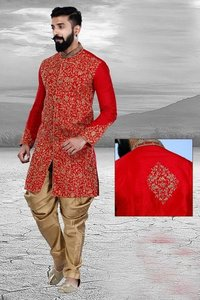 Exclusive Readymade Designer Men's Sherwani