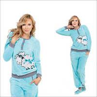 Ladies Satin Pajamas