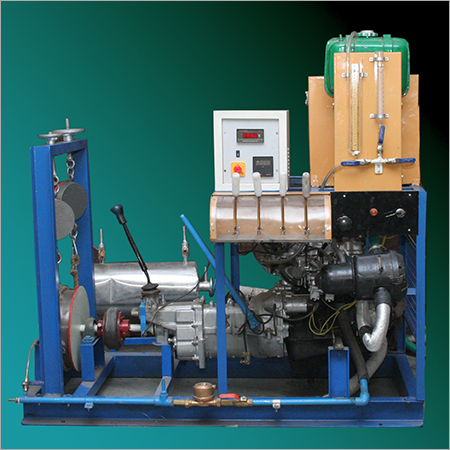 Four Stroke Four Cylinder Petrol Engine Test Rig