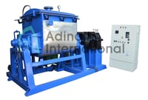 Heavier viscosity mixer, rubber compound mixer