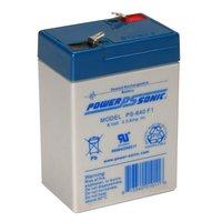 Powersonic 6V, 4AH Sealed Lead Acid Battery