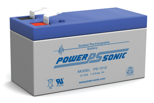 Powersonic 12V, 1.2AH Sealed Lead Acid Battery