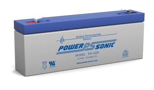 Powersonic 12V, 2AH Sealed Lead Acid Battery