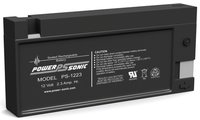 Powersonic 12V, 2.3AH Sealed Lead Acid Battery