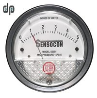 Sensocon USA Magnehelic Gauges 0 To 5 MM WC