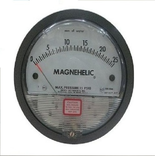 Dwyer USA Magnehelic Gauges 0 To 25 MM WC