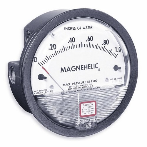 Dwyer USA Magnehelic Gauges 0 To 100 MM WC