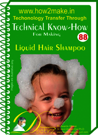 Liquid Hair Shampoo Technical knowHow Report