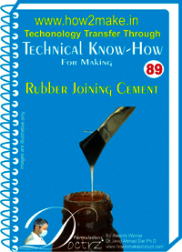 Rubber Joining Cement Technical knowHow report