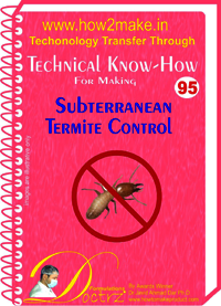 Subterranean Termite Control Technical knowHow report