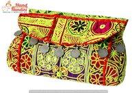 Bohemian Indian Clutch Bag