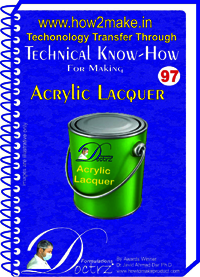 Acrylic Lacquer Technical knowHow report