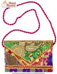 Banjara Patchwork Embroidered Hippy Fashion Bag
