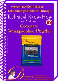 Concrete Waterproofing Powder Technical Know-How Report