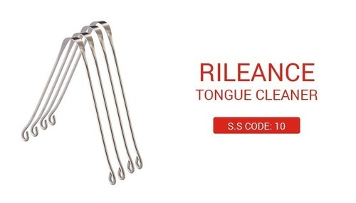 Rileance Stainless Steel Tongue Cleaner