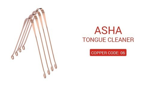 Asha Copper Tongue Cleaner