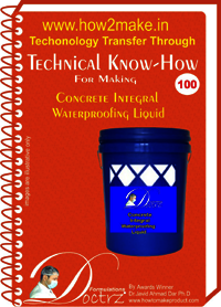 Concrete Integral Waterproofing Liquid Technical Know-How Report