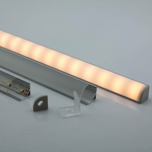 Corner LED Profile For Staircase Edge Lighting