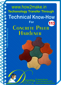 Concrete Paver Hardener Technical Know-How Report