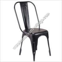 Black Color Metal Chair