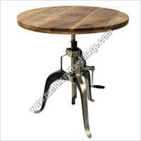 Dining Furniture Table With Wooden