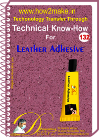 Leather Adhesive Technical Know-How