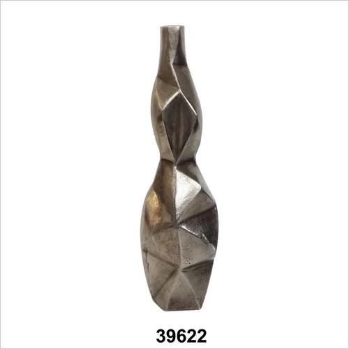 Raw Aluminium Vase