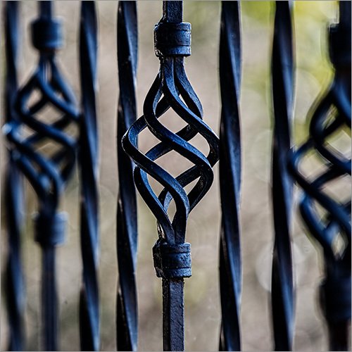 Decorative Cast Iron Balcony Railings