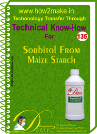 Sorbitol From Maize Starch Technical Know-How