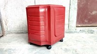 Red Colour Inverter Trolley