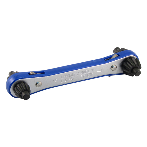 FIT TOOLS 4 Way Drill Chuck Master Key Ratchet Wrench