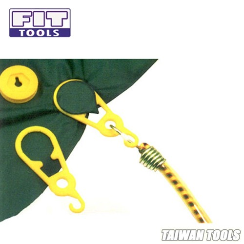 FIT TOOLS Super Heavy Duty Tarp Snap Clamp Clip for Tent