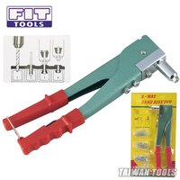 FIT TOOLS Hand 2 Way Horizontal or Vertical Riveter with 60 Rivet