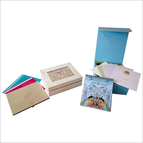 Fancy  Wedding Card Boxes