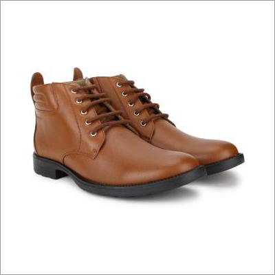 Mens Brown Casual Boot
