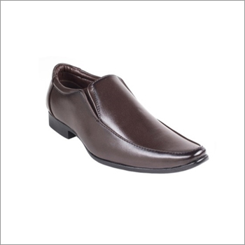 Men Brown Formal  Shoes Without Lace