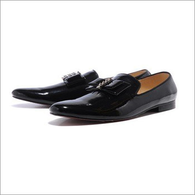 Men Black Formal Shoes With Derby