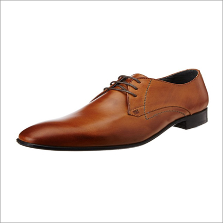 Men Formal Tan Shoes