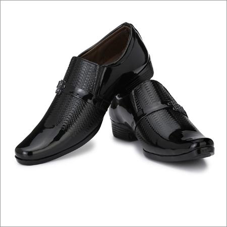 Moccasins Men Black Formal Shoes